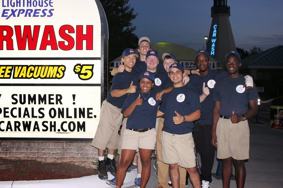 Lighthouse Express Car Wash Team Members