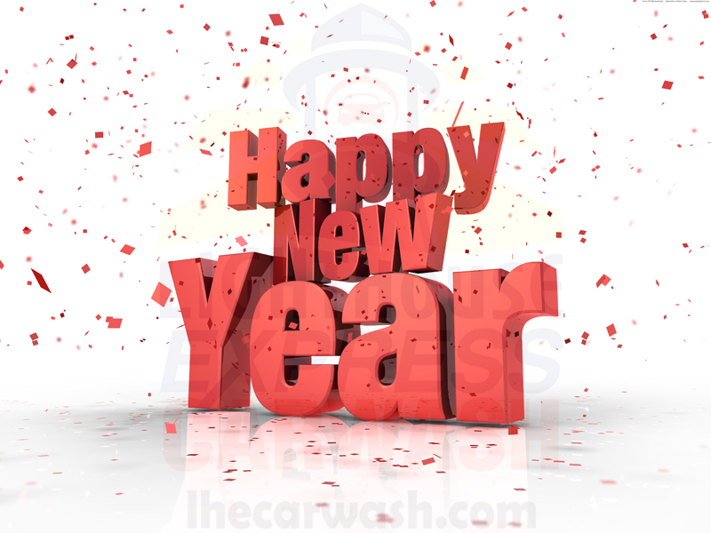 Happy New Year from Lighthouse Express Car Wash