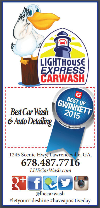 Best of Gwinnett 2015 - Best Car Wash